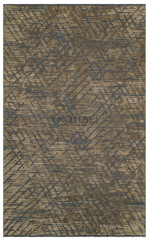 Kilimas Ekohali Tribal TRB02 antracit vizon 160x230 cm