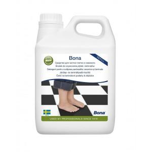 Laminuotų grindų valiklio papildymas Bona Hard Floor Cleaner, 4l
