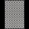 Kilimas Narma Viki juodas 100 / 100x160 cm