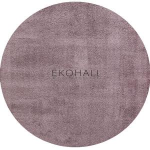 Kilimas Ekohali Comfort 1006 lila apvalus 160 cm