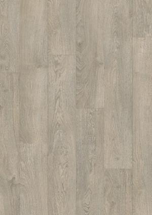 Laminuotos grindys Quick-Step, šviesiai pilkas senovinis ąžuolas, CLM1405H