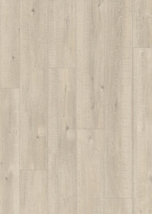 Laminuotos grindys Quick-Step, Ąžuolas su pjūklo pjūviais smėlinis, IM1857, 1380x190x8mm, 32 klasė, Impressive HydroSeal kolekcija