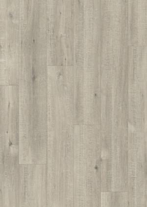 Laminuotos grindys Quick-Step, Ąžuolas su pjūklo pjūviais pilkas, IM1858, 1380x190x8mm, 32 klasė, Impressive HydroSeal kolekcija