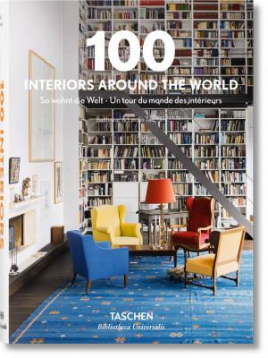 "Aurelia Taschen / ""100 Interiors Around the World"" / 2015 / knyga / leidykla ""Taschen"""