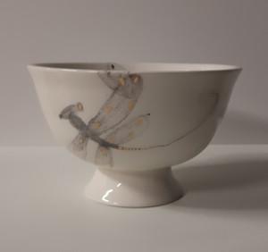 Eglė Einikytė / Indas ant kojelės / 2017 / keramik