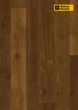 Parketlentės Weitzer parkett, Coffee ąžuolas, lively, 20936, 2245x193x14mm,1 juostos, Charisma plank kolekcija