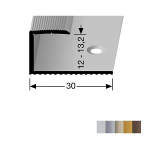 Profilis aliuminis, kraštų užbaigimui BEST 213 (pragręžtas su varžtais), 2,7 m
