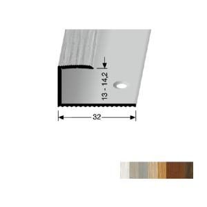 Profilis aliuminis, kraštų užbaigimui BEST 214 H (pragręžtas su varžtais), 0,9 m