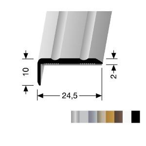 Profilis aliuminis, kampų apdailai BEST 236 SK (prisiklijuojantis), 2,7 m