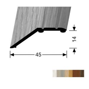 Profilis aliuminis, kraštų užbaigimui BEST 241 H/SK (prisiklijuojantis), 2,7 m