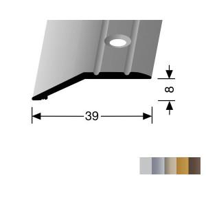 Profilis aliuminis, kraštų užbaigimui BEST 244  (pragręžtas su varžtais), 2,7 m