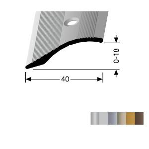 Profilis aliuminis, kampų apdailai BEST 247 (pragręžt. su varžtais), 3 m