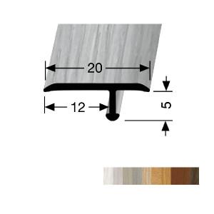 Profilis aliuminis, dangų sujungimui EB 291 H (lenkiamas), 2,7 m