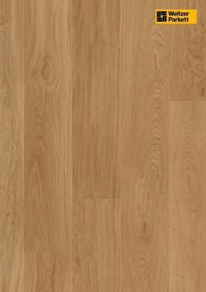 Parketlentės Weitzer parkett, natūralus ąžuolas, calm, alyva, 29277, 2245x193x14mm, 1 juostos, Charisma plank kolekcija