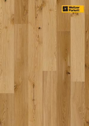 Parketlentės Weitzer parkett, natūralus ąžuolas, alyva, lively, 60261, 2400x193x14mm, 1 juostos, Grand plank kolekcija