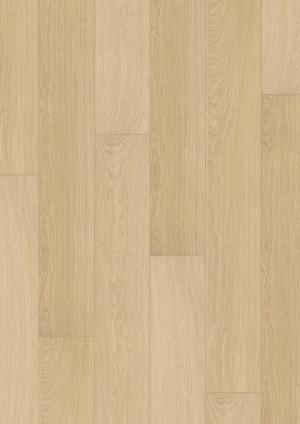 Laminuotos grindys Quick-Step, Šviesiai Lakuotos Ąžuolo lentos, IM3105, 1380x190x8mm, 32 klasė, Impressive HydroSeal kolekcija