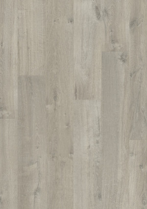 Laminuotos grindys Quick-Step, Pilkas švelnus ąžuolas, IM3558, 1380x190x8mm, 32 klasė, Impressive HydroSeal kolekcija