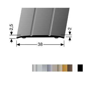 Profilis aliuminis, dangų sujungimui BEST 438 SK (prisiklijuojantis), 3 m