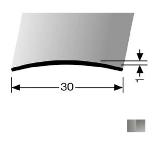 Profilis nerūdijančio plieno, dangų sujungimui BEST 451 U (nepragręžtas), 0,9 m