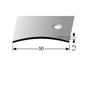 Profilis žalvarinis, dangų sujungimui BEST 455 S (pragręžtas krašte su varžtais)