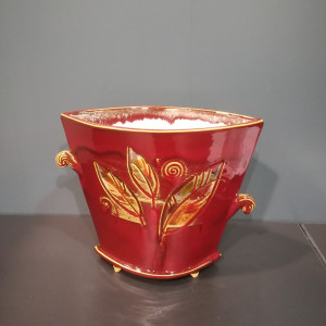 Vaza trapecinė vidutinė raudona