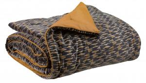 Pledas / lovos užtiesalas Liam Ombre 135x200 cm Vivaraise