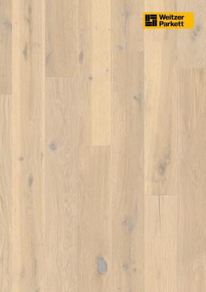 Parketlentės Weitzer parkett, Savanne ąžuolas, rustic colourful, alyva, 57035, 1800x175x11, 1 juostos, Comfort plank kolekcija