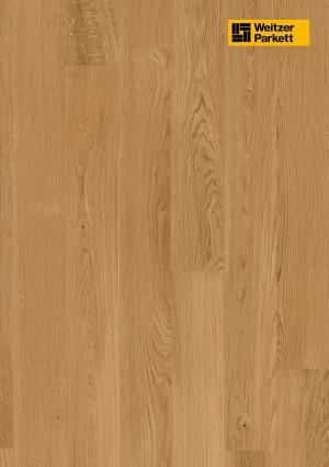 Parketlentės Weitzer parkett, natūralus ąžuolas, calm, 59481, 1800x175x11, 1 juostos, Comfort plank kolekcija