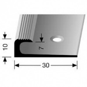 Profilis aliuminis, kampų apdailai BEST 805, 2,5 m