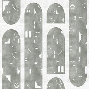 Tapetai (panelės) 9000022N neaustinio pluošto, Random Archist, Coordonne (galimi skirtingi dydžiai)