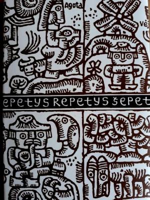 """L. Sauka / """"Šepetys repetys"""" / 2016 / knyga /R. Paknio leidykla"""