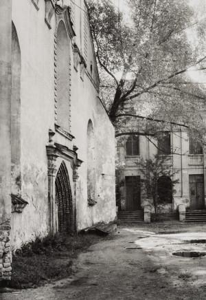Arūnas Baltėnas / Vilnius. Pranciškonų bažnyčia / 1986 / Autorinis sidabro bromido atspaudas / 29 x 20,7