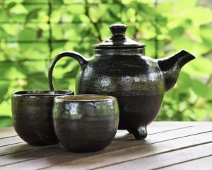 Keramika /Beatričė Kelerienė / Keraminis arbatos puodelis be rankenėlės III / 2017