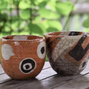 Keramika /Beatričė Kelerienė / Keraminis arbatos puodelis be rankenėlės V / 2017