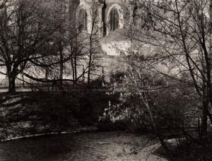 Arūnas Baltėnas / Vilnius. Bernardinų bažnyčia/ 1995 / Autorinis sidabro bromido atspaudas / 20,5 x 26