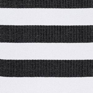 Kilimas Narma Birkas juoda-balta plastikas / 70x300 cm