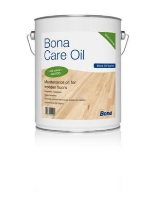 Alyvuotų grindų priežiūros priemonė Bona Care Oil, White 1 l