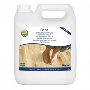 Medinių grindų valiklio papildymas Bona Wood Floor Cleaner, 4l