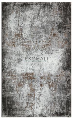 Kilimas Ekohali Como CM07 pilka beige 120x170 cm