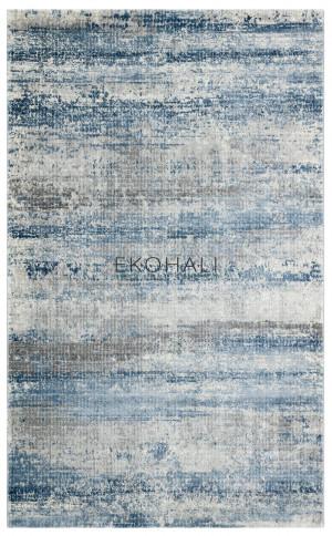 Kilimas Ekohali Como CM11 pilka mėlyna NW 120x170 cm