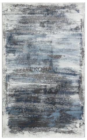 Kilimas Ekohali Como CM14 pilka mėlyna NW 120x170 cm