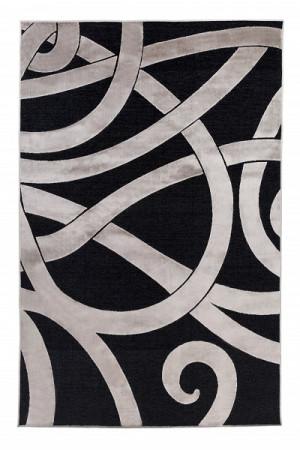 Kilimas Vallila Viikinki black clay 140x200 cm
