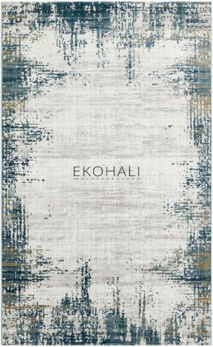 Kilimas Ekohali Como CM17 kreminė marine 160x230 cm