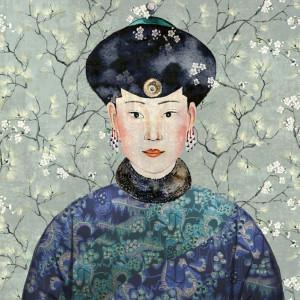 Tapetai DGKIM102 Kimono, Masureel
