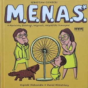 "Sebastian Cichocki / ""M.E.N.A.S."" / 2013 / knyga /"