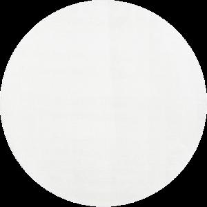 Kilimas Narma Eden baltas / apvalus 133 cm