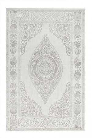 Kilimas Vallila Hula shiny white beige 140x200 cm