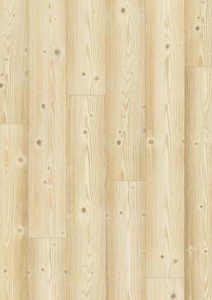Laminuotos grindys Quick-Step, Pušis Natūrali, IM1860, 1380x190x8mm, 32 klasė, Impressive HydroSeal kolekcija
