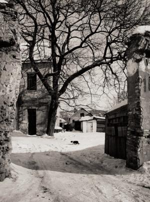 Arūnas Baltėnas / Vilnius. Bokšto gatvė / 1996 / Autorinis sidabro bromido atspaudas / 29 x 20,7