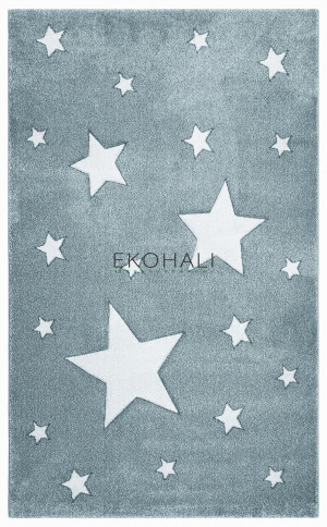Kilimas Ekohali Eko Kids KDS12 mėlynas 120x180 cm